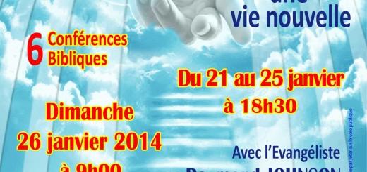évangélisation tsf 21 au 26 01 2014