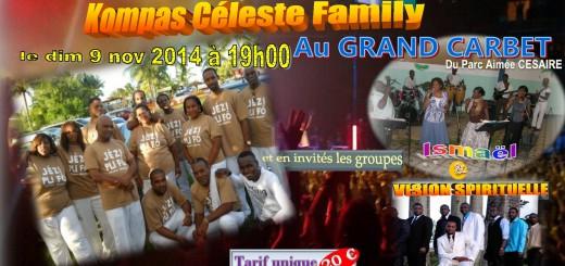 Affiche concert soutien Frantzy GAUTHIER